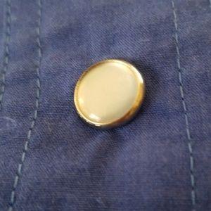 Laura and Jayne Tops - Laura & Jayne Blue Western Snap Button Long Sleeve